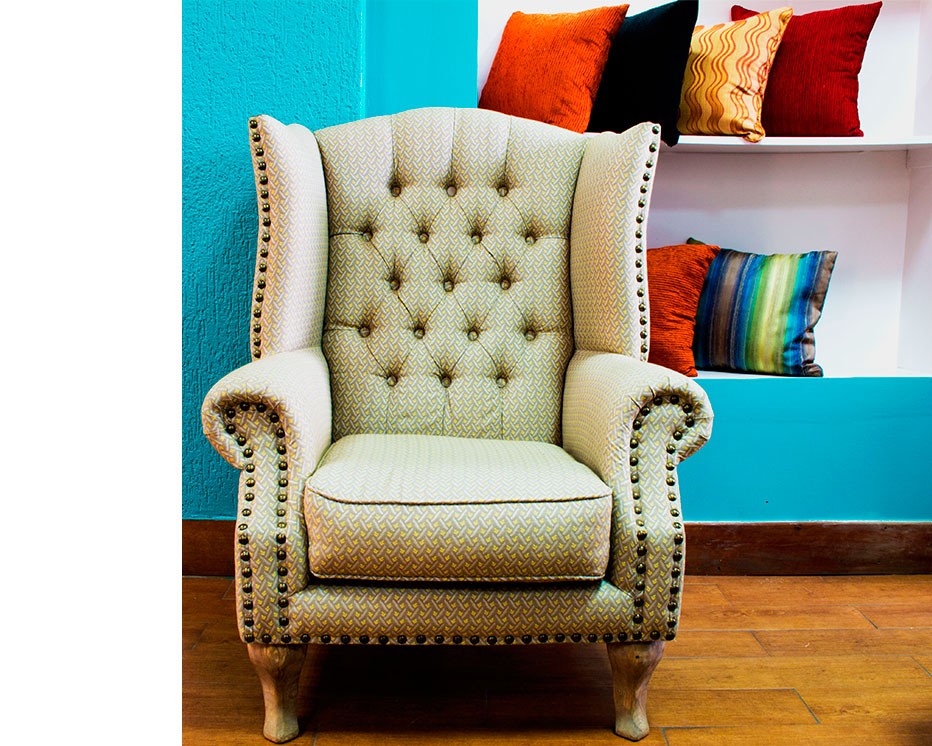 terry designs wing chair